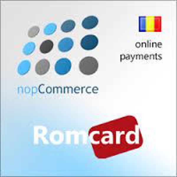Picture of RomCard payments plugin for nopCommerce