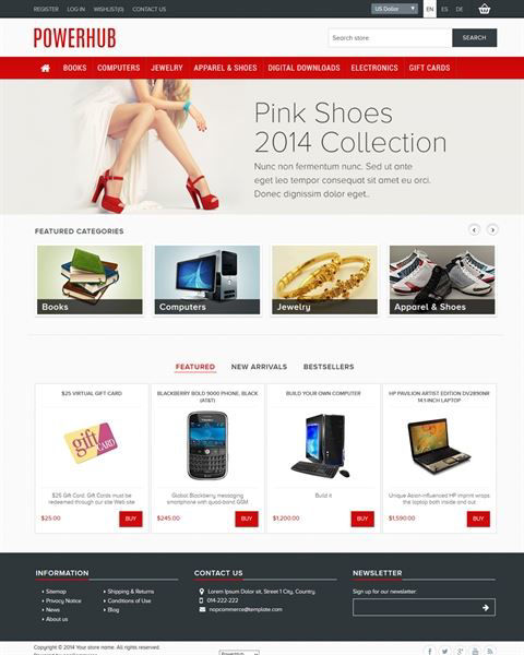 Picture of PowerHub Responsive Template