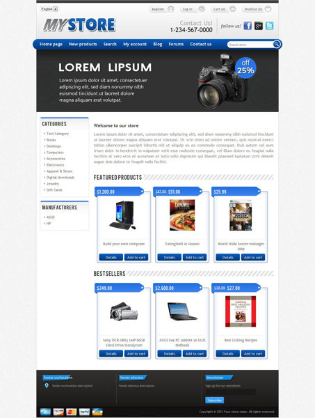 Picture of MyStore Responsive Template