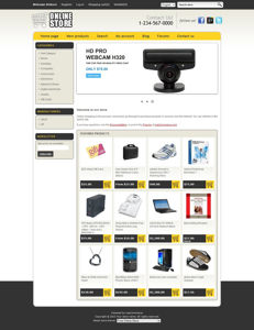 Picture of Online Store Responsive Template