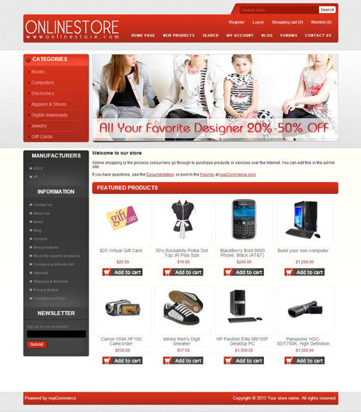 Picture of Big Store Responsive Template