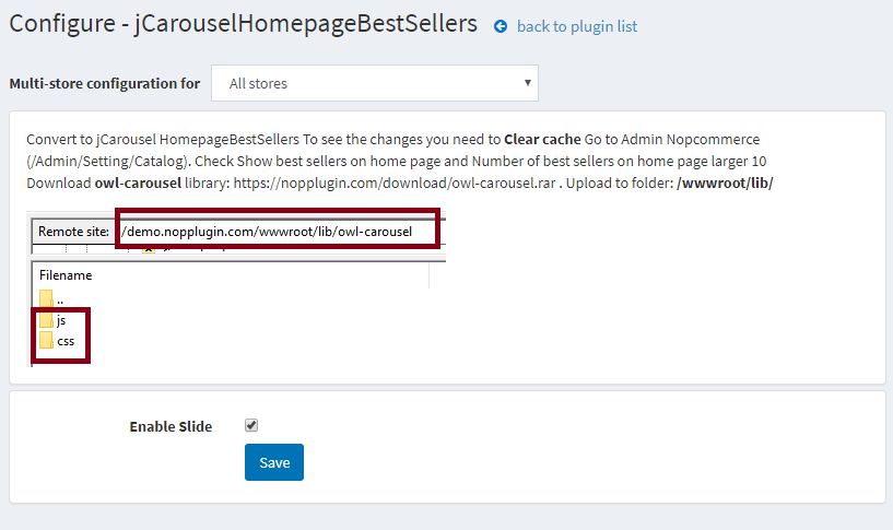 Picture of jCarousel Home page Best Sellers