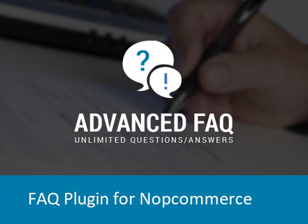 Picture of Advanced FAQ Plugin for Nopcommerce